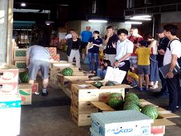 8月3日(土)地方卸売市場スぺシャル見学ツアーが開催されました。