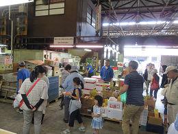 6月3日(土)に市場開放フェアが開催されました。