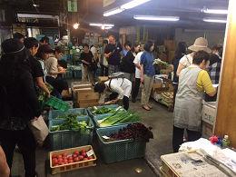 6月2日土曜日市場開放フェアが開催されました。