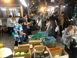 10月5日土曜日市場開放フェアが開催されました