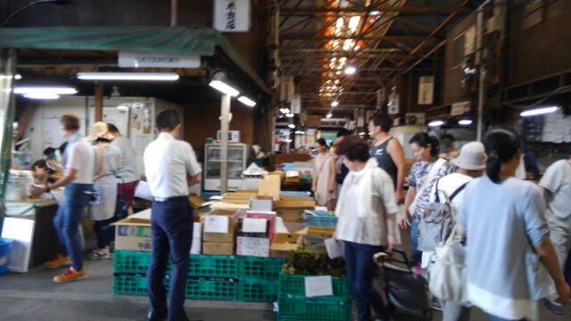8月4日(土)に市場開放フェアが開催されました。