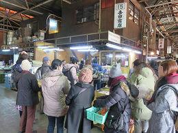 2月4日(土)に市場開放フェアが開催されました。