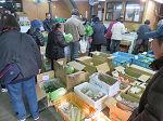 3月4日(土)に市場開放フェアが開催されました。