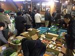 3月3日土曜日市場開放フェアが開催されました。