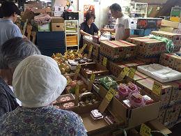 7月1日(土)に市場開放フェアが開催されました。