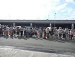 8月6日(土)午前8時から午前11時まで市場開放フェアが開催されました。