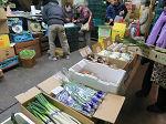 2月3日土曜日市場開放フェアが開催されました。