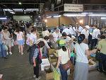 8月1日(土)に市場開放フェアが開催されました。