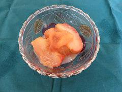 りんごと柿のコンポート