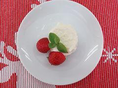 豆腐入りチーズケーキ(18㎝リング型1台分)