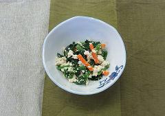 野菜の白和え