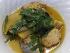 ぶりと大根の中華風煮