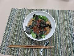うなぎとオクラのネバネバ丼