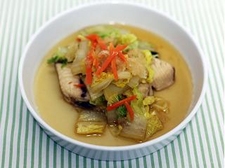 ぶりと白菜のおろし煮