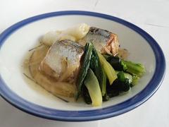 さんまの煮魚