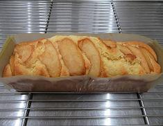 リンゴとさつまいものパウンドケーキ