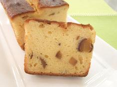 鳴門金時と栗のパウンドケーキ